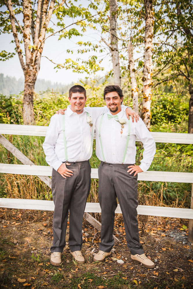 Groomsman By Captured By Katie Photography, Bonney Lake Wedding Photographer