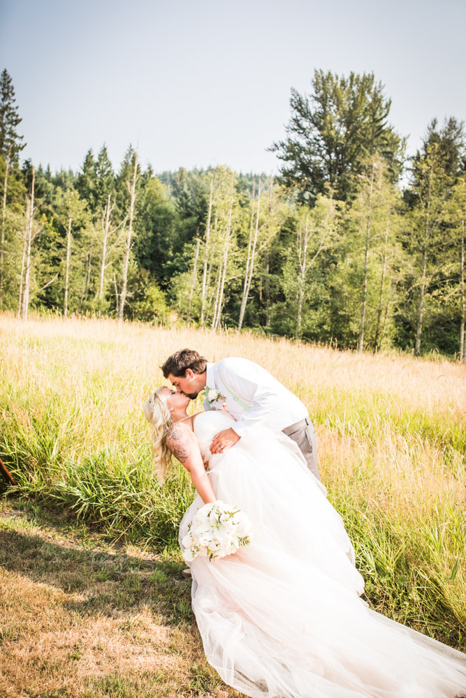 The Dip By Captured By Katie Photography, Bonney Lake Wedding Photographer