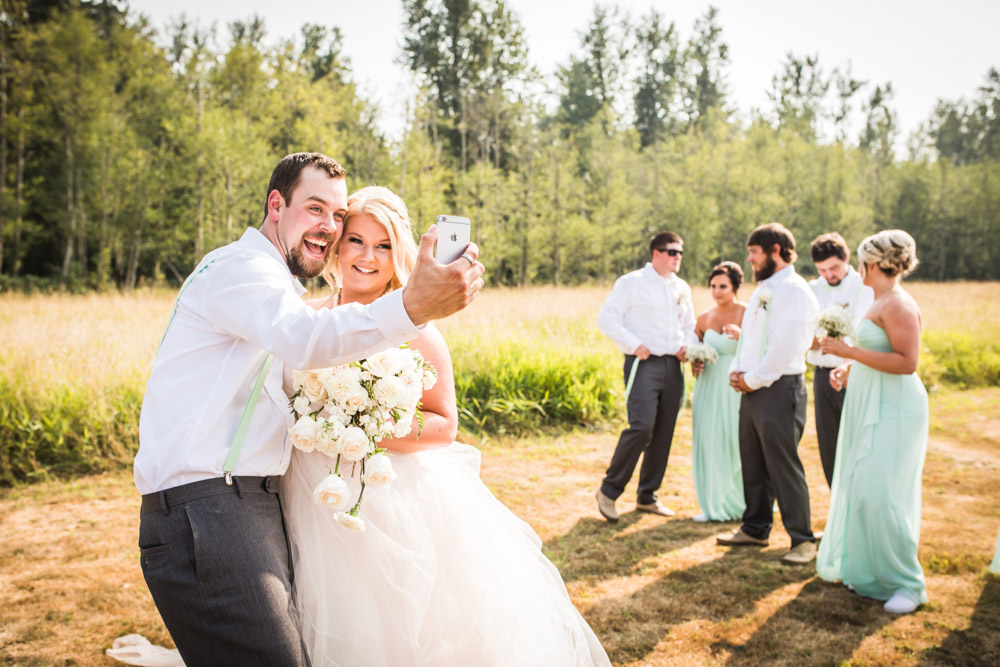 The Selfie By Captured By Katie Photography, Bonney Lake Wedding Photographer