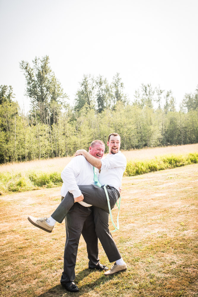 The Goofing Around By Captured By Katie Photography, Bonney Lake Wedding Photographer