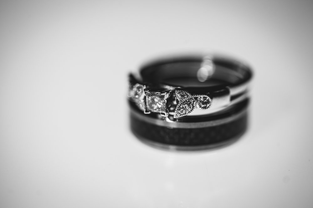 Ring Detail By Captured By Katie Photography, Bonney Lake Wedding Photographer