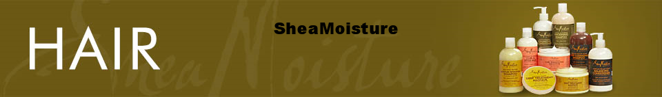 SHEA MOISTURE: amazing shampoo and conditioner for thick hair <3