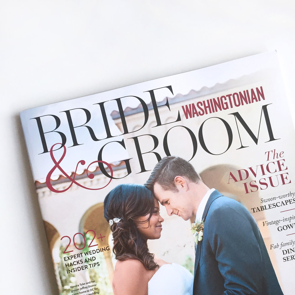 Washingtonian Bride & Groom Magazine
