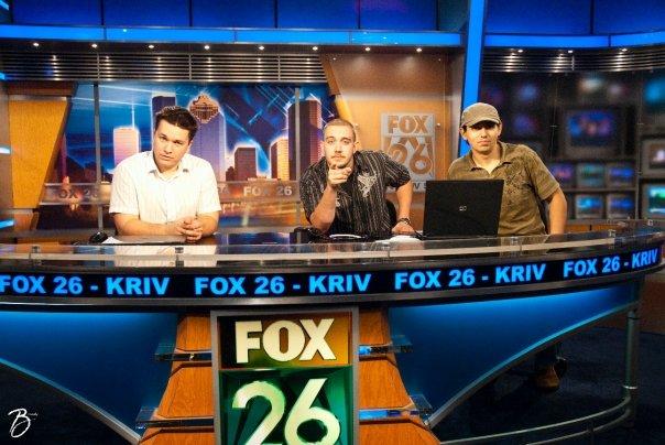 Live on Fox 26