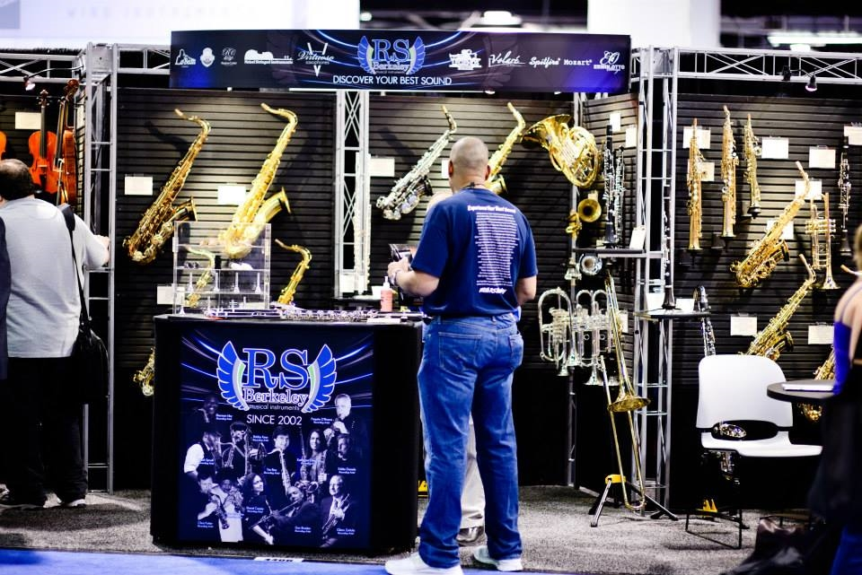Booth Design for RS Berkeley Inc. at the National Association of Music Merchants Convention Anaheim, California 2014
