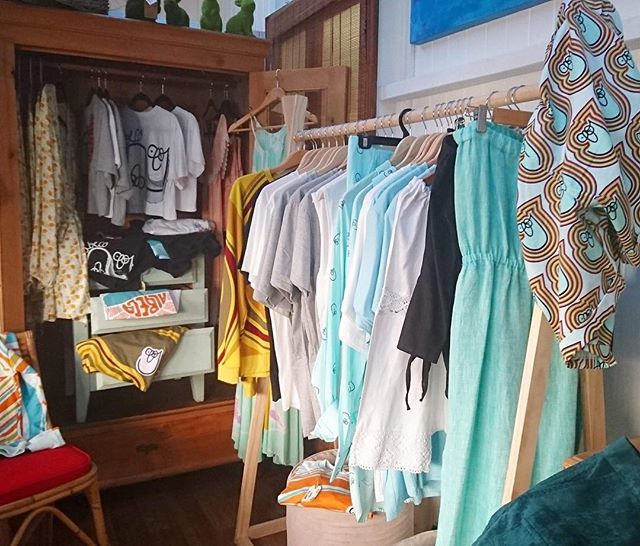 We have a full wardrobe of sunshine for you lovely people of Montville! Pop into Camphor Cottage to pick up both men's and women's goods! albeco.com.au for those of you who wish to purchase online.. Enjoy 😄🎉