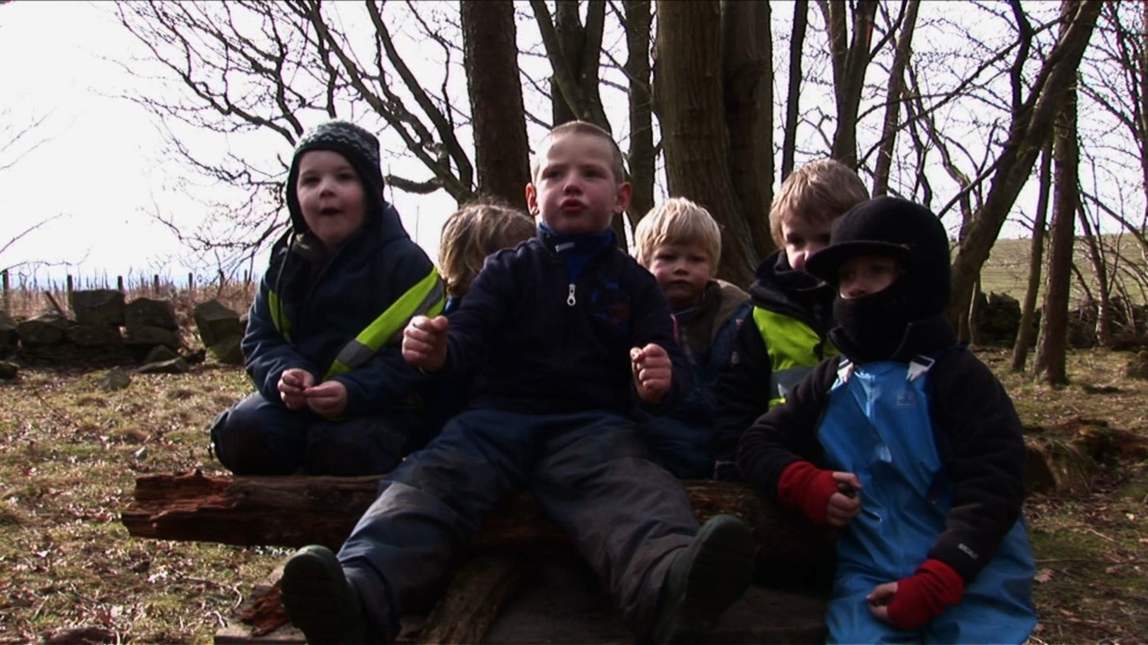 A group of adorable Scottish children are filmed making-believe in the woods.  This entertaining short was illustrative of the kind of archetypal personalities and communal constructs that emerge from kids given the freedom to play.     - Into the Middle of Nowhere (Ewert 2010) @ Sundance Kabuki Cinemas #SFIFF