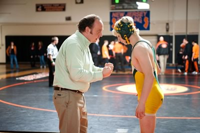 Mike Flaherty (Paul Giamatti) is a down, but not out, attorney and high school wrestling coach whose constitution is tested by a runaway youth.   This is the kind of film that doesn't warrant too many flowery adjectives or postulation.  It's a timely family dramedy that manages to effectively tug heartstrings, tickle funny-bones, and probably hit many Americans where they live.  It won't, however, leave you surprised, challenged, or dazzled.    - Win Win (McCarthy 2011)