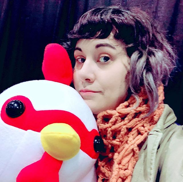 Hello I have obtained this CHOOK at pax. Their name is Huggles.