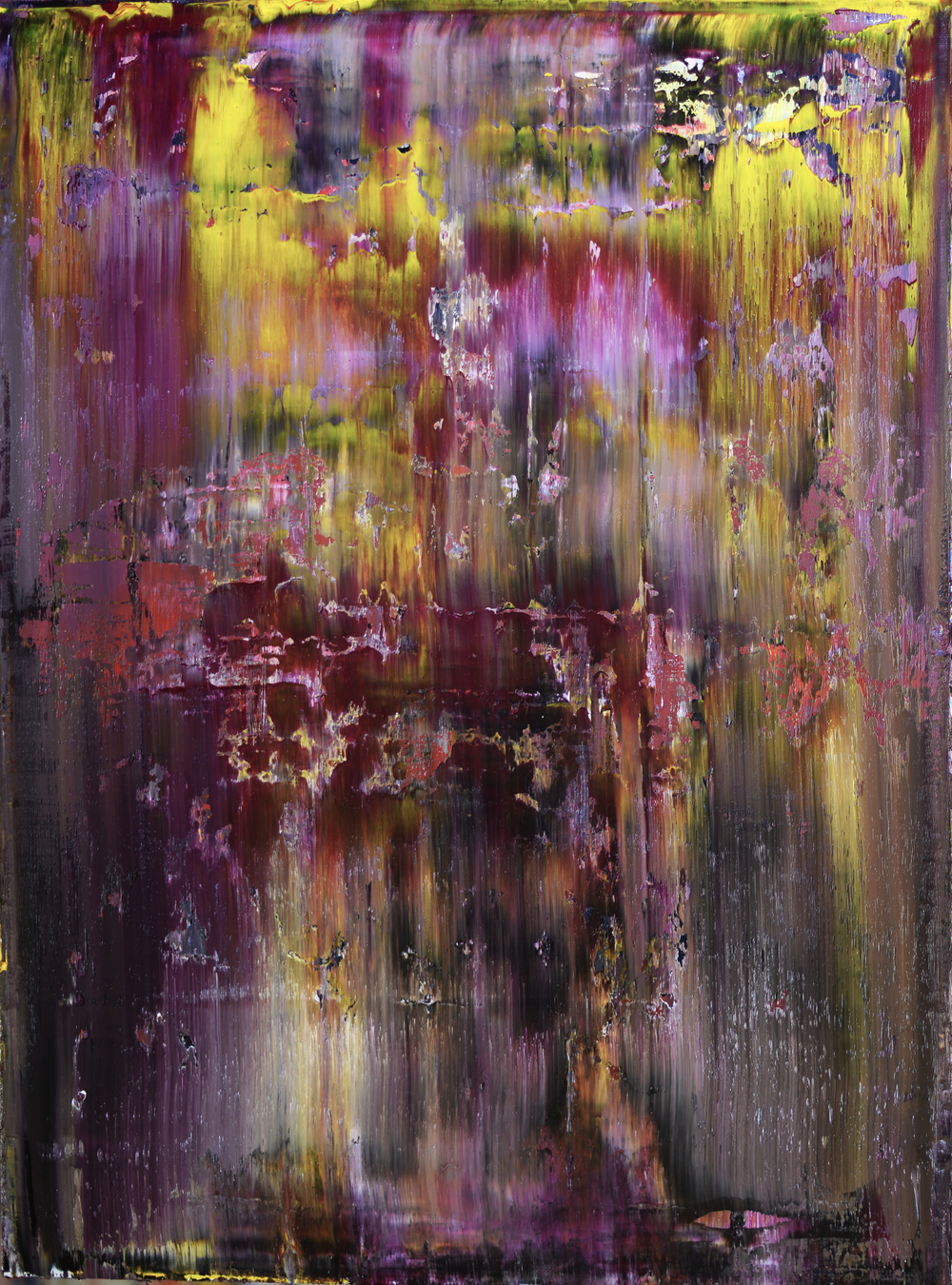 """SEEK"" Is an original, abstract painting created by Los Angeles based artist, Laura Viapiano"