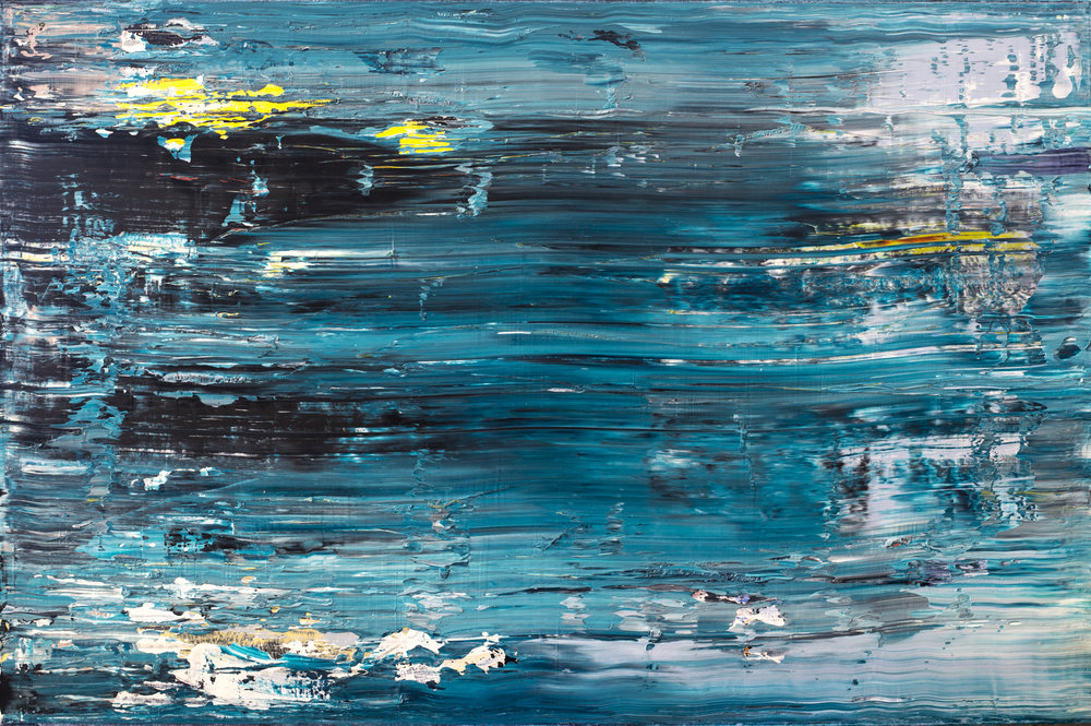 """Freedom"" Is an original, abstract collaborative work created by los angeles based artists, Laura viapiano & BRIAN PECK"