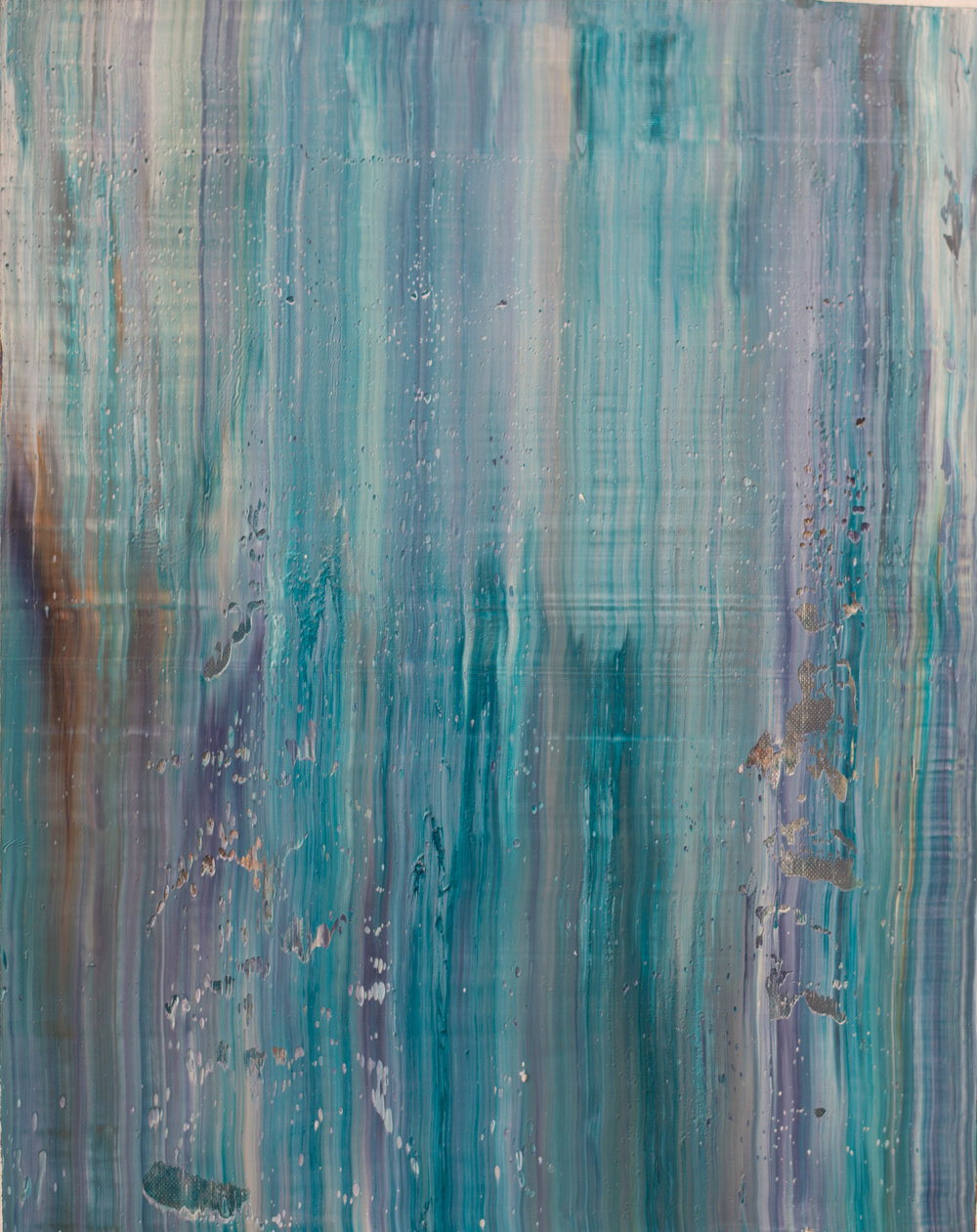 """DRIFT"" is an original, abstract oil painting by Los Angeles based artist, Laura Viapiano."