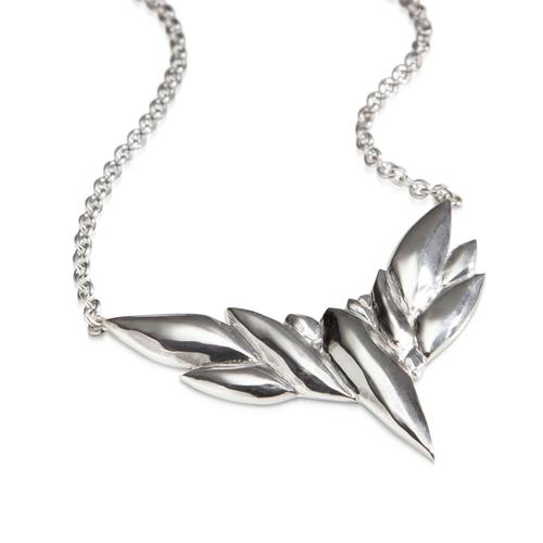 Repouss bird pendant lisa kim fine jewelry repouss bird pendant aloadofball Gallery