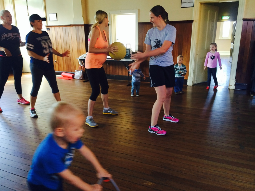 Fitness For Mums with Babes and Children - Indoors and Outdoors (depending on the Weather)