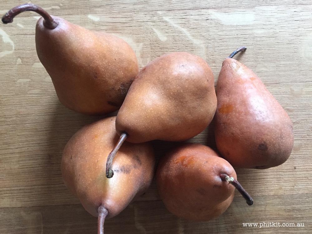 Beurré Bosc Pears