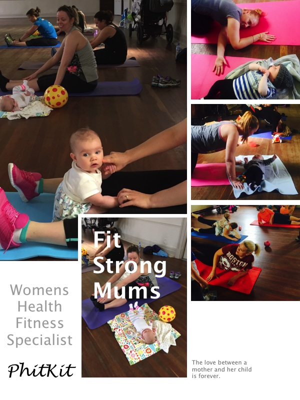Mums and Bubs - Core and Pelvic Floor Restore Postnatal Exercise Program