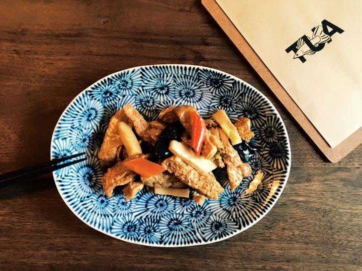 香菇素食烤麩