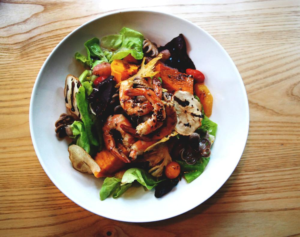 海鮮蔬菜沙拉