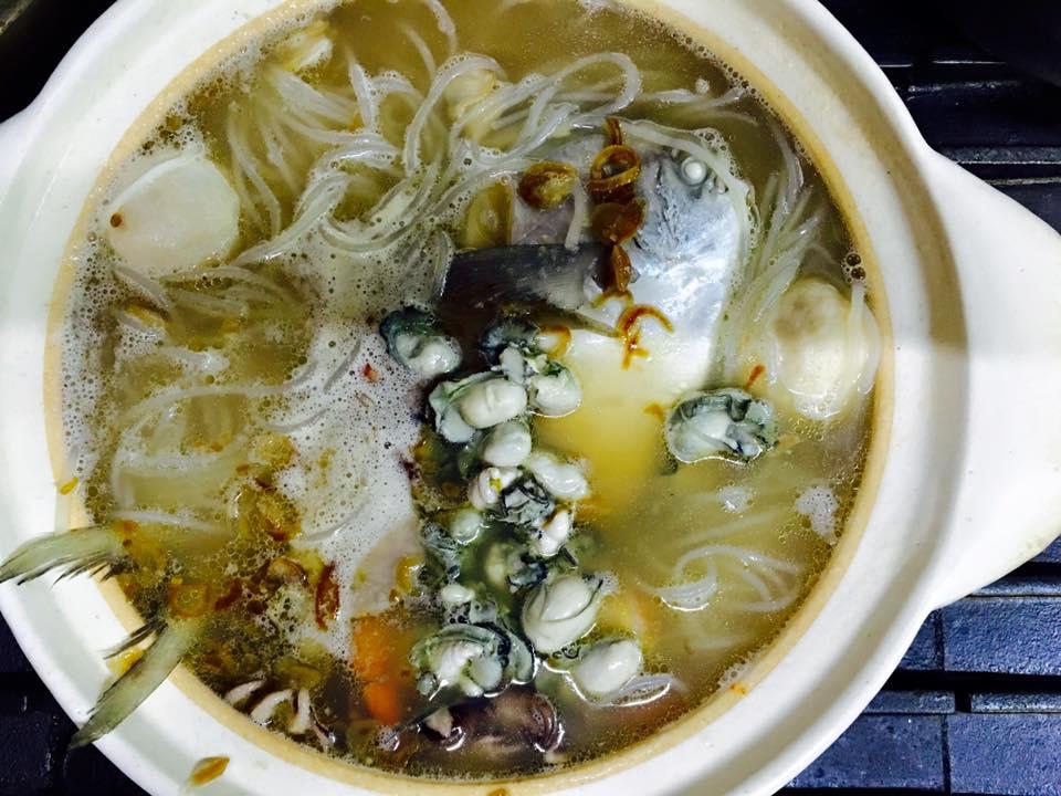 白鯧魚米粉湯