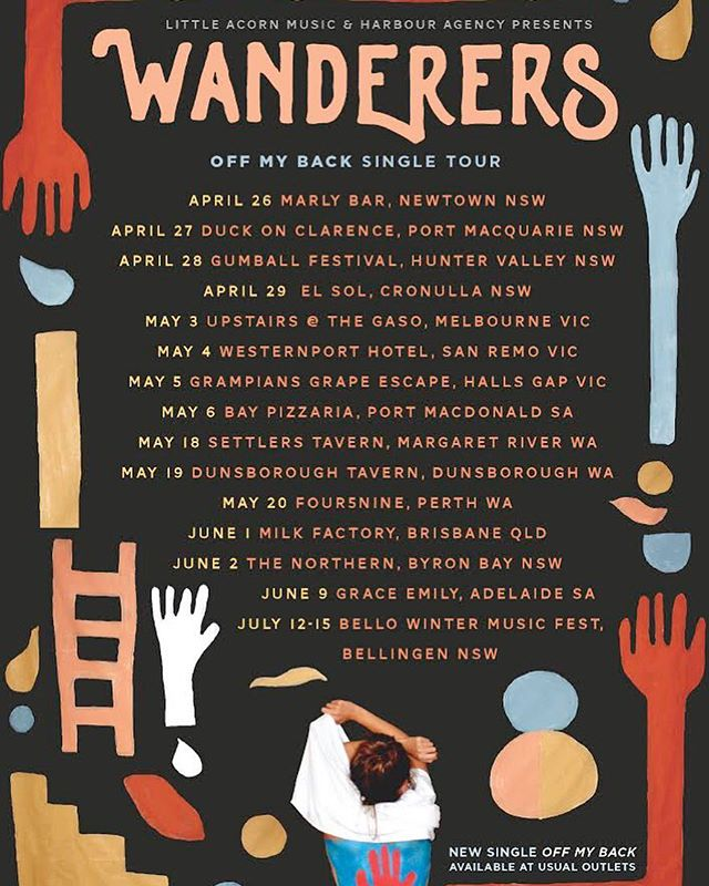 Supporting @wanderers_au this THURSDAY night at @themarlynewtown ! We've got some bangin' new arrangements to show you