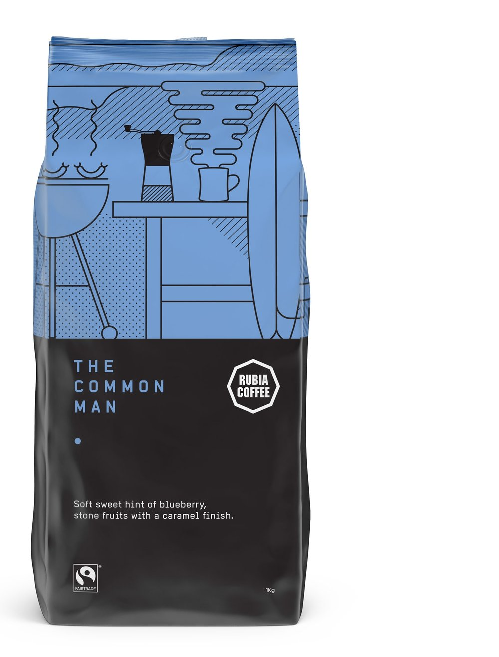 Rubia Coffee The Common Man coffee blend