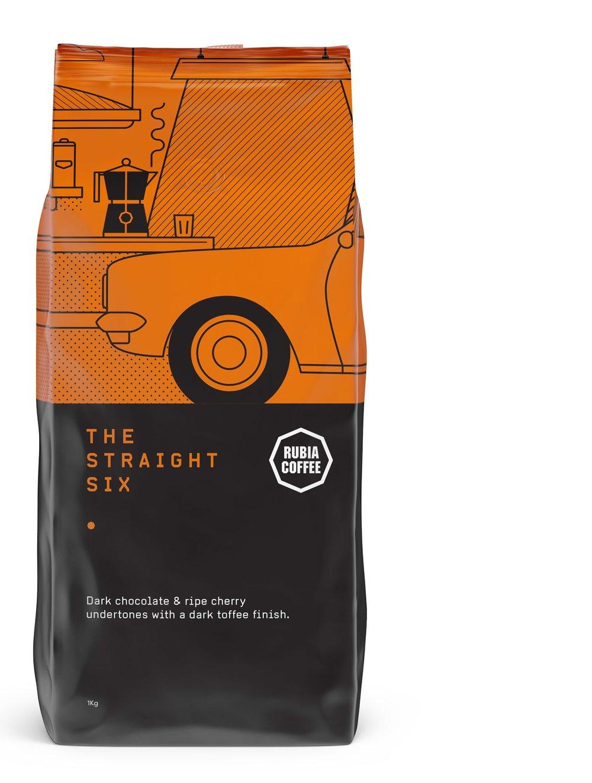 Rubia Coffee The Straight Six coffee blend