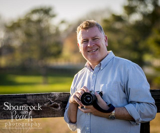 Shamrock and Peach photography by Gary McLoughlin