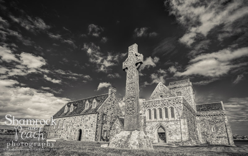 Iona Abbey - the isle of Iona, Scotland