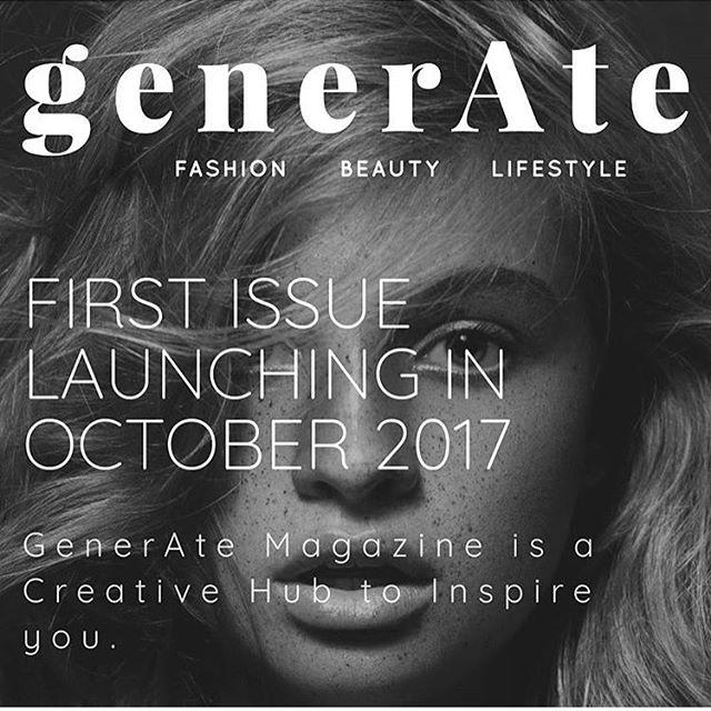I've been a bit quiet around here, and for good reasons. I've been working on some amazing projects behind the scenes, one of those projects being the new & exciting @generatemagazine for the lovely founders of @morgananniecosmetics + @vicandvelour. I'm so honoured to be given this opportunity and I can't wait to see the final product printed + in my hands ⚡️
