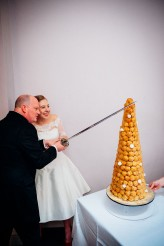 Charlie and Barney's Croquembouche , Oxen Hoath, May 2014