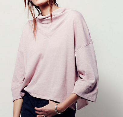 COZIEST COCOON PULLOVER $29.95