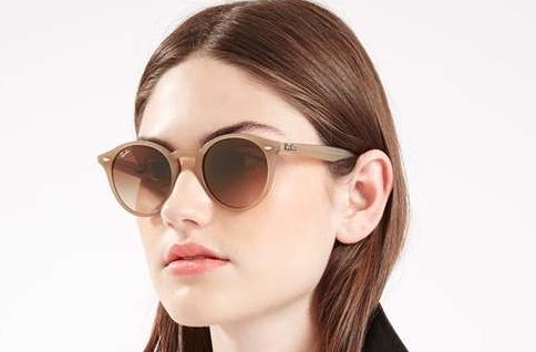 TOPSHOP / RAY-BAN    Turtledove Round Sunnies