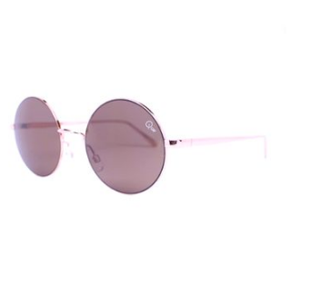 TOPSHOP / QUAY    Electric Dreams Rose Gold Sunnies