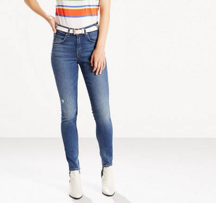 LEVI'S Orange Tab 721    Indigo Flicker