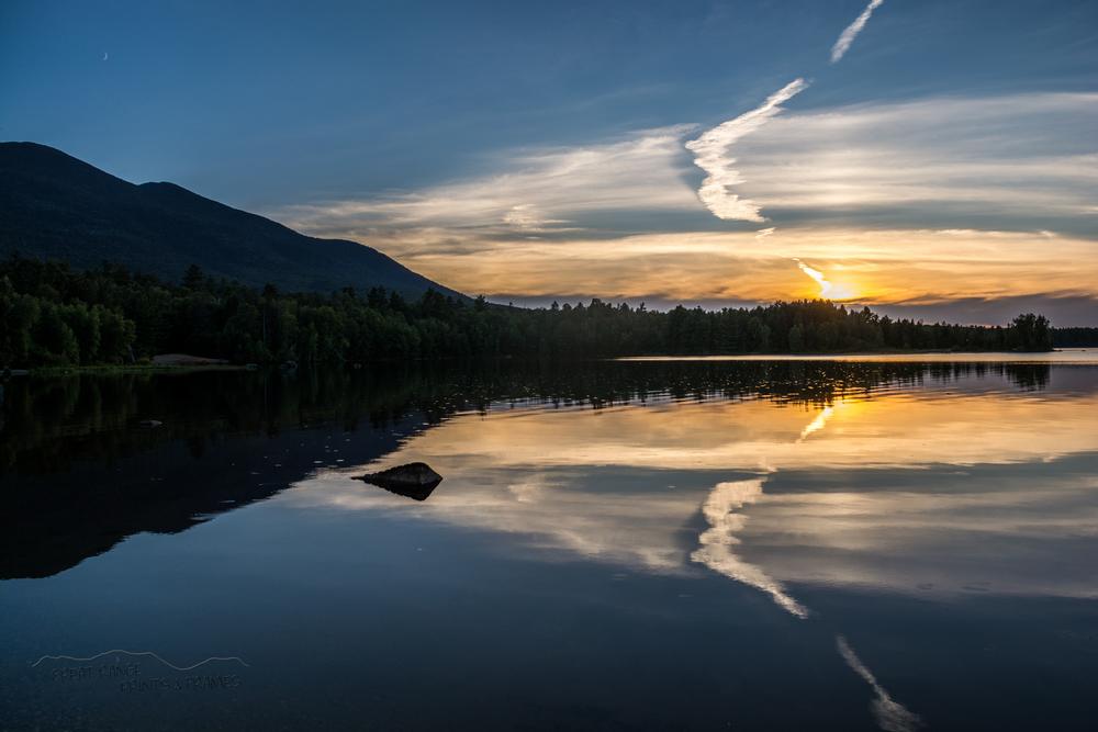Flagstaff Lake Sunset