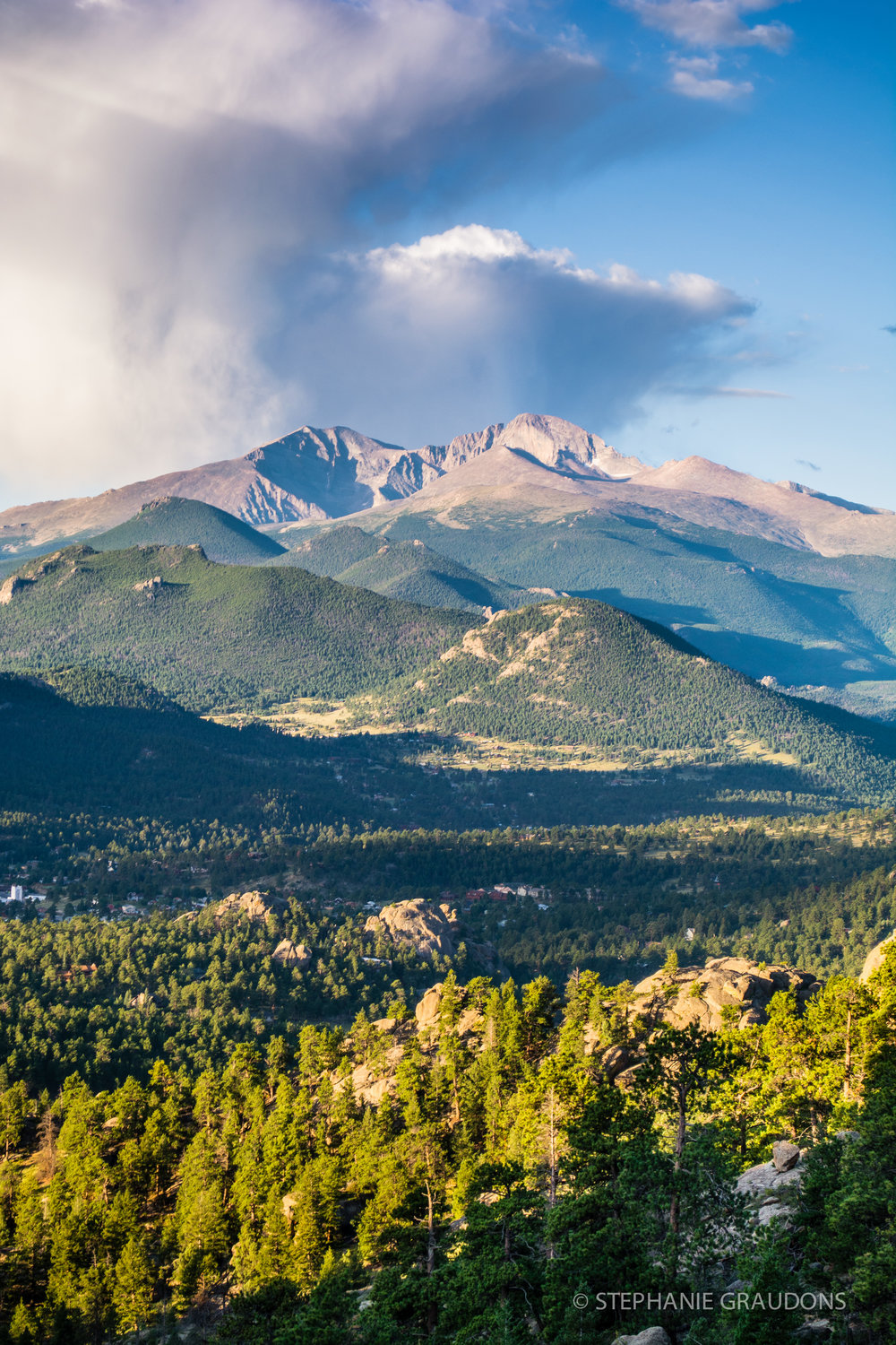 Morning Storm Over Longs Peak