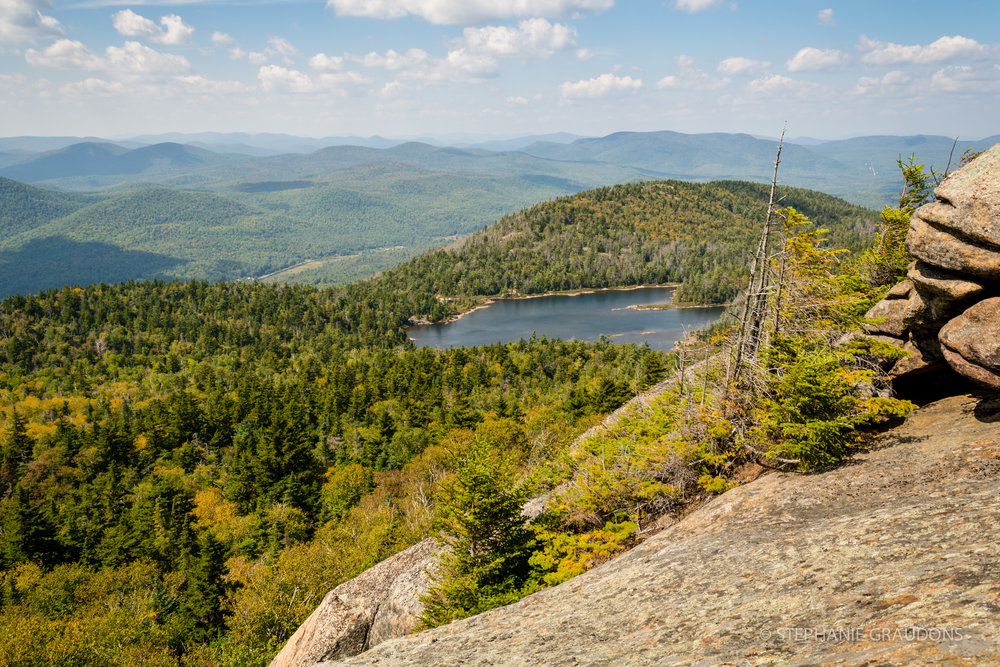 Crane Mountain Pond Overlook