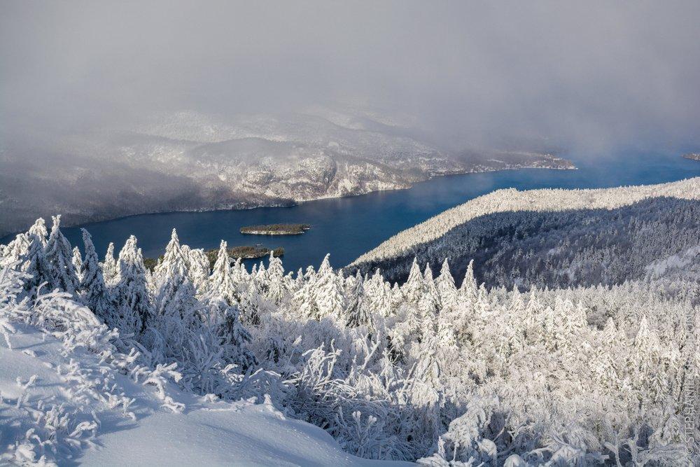 Overlooking Lake George