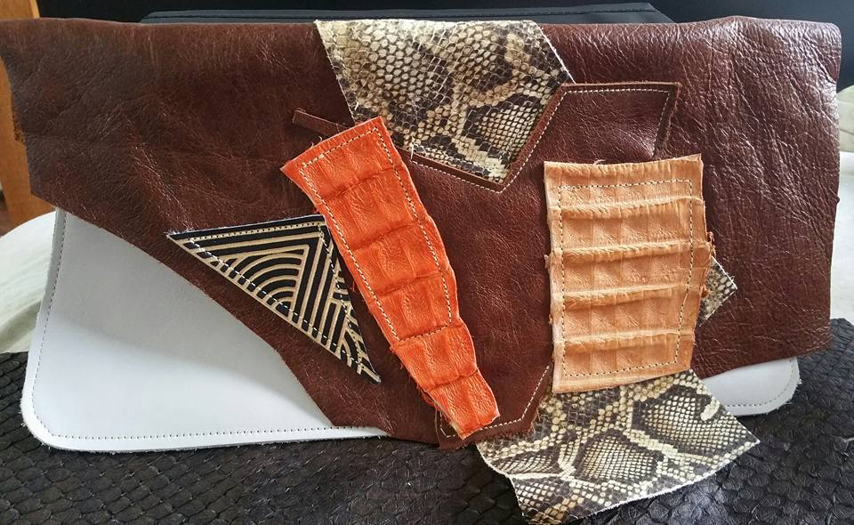 One-of-a-kind Leather Bag, Moetleh Designs