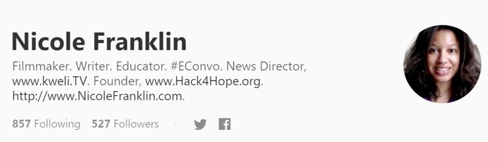 Visit me at Medium.com @Nicoleedits.