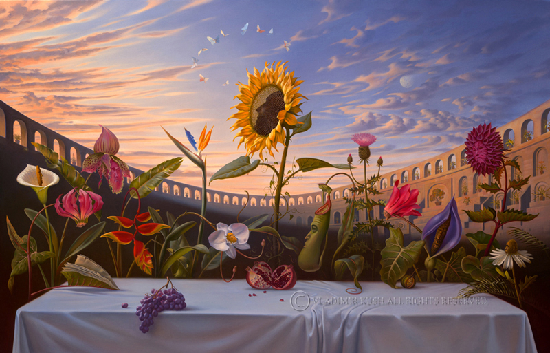 Embody Your Muse - Vladimir Kush - Last Supper