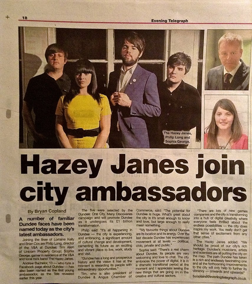 Evening Telegraph Feature