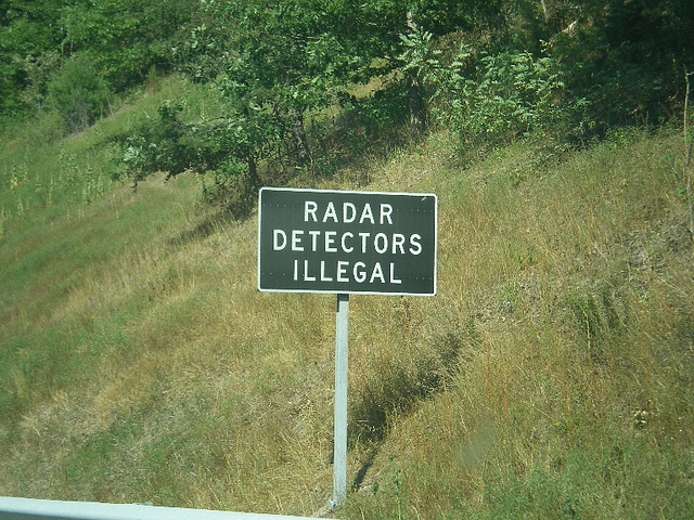 radar dector, Illegal, Reckless driving, traffic attorney, virginia
