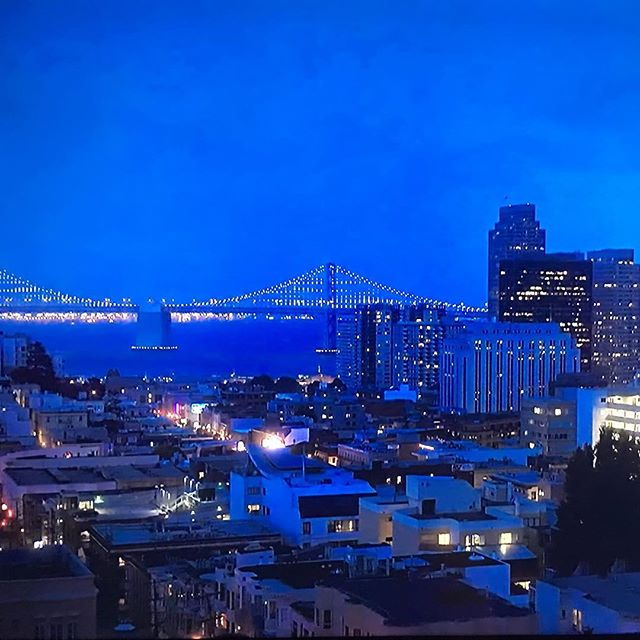 Something to be said about the night lights. @jdtroad . . #jdtroad #justdowntheroad #sanfrancisco #bridge #panorama #night #outatnight #view #nightsky #sanfranciscoatnight #wow