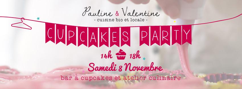 Cupcakes Party Pauline et Valentine