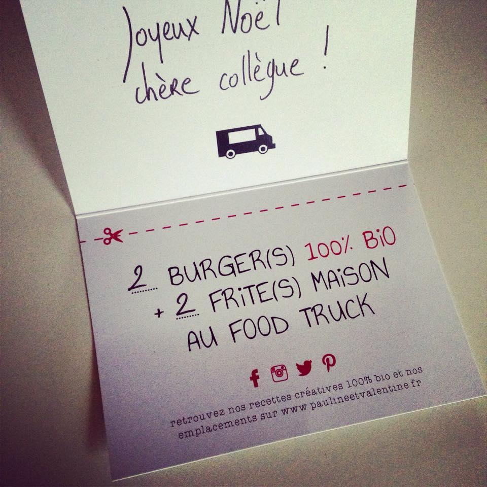 Cartes cadeaux Food Truck