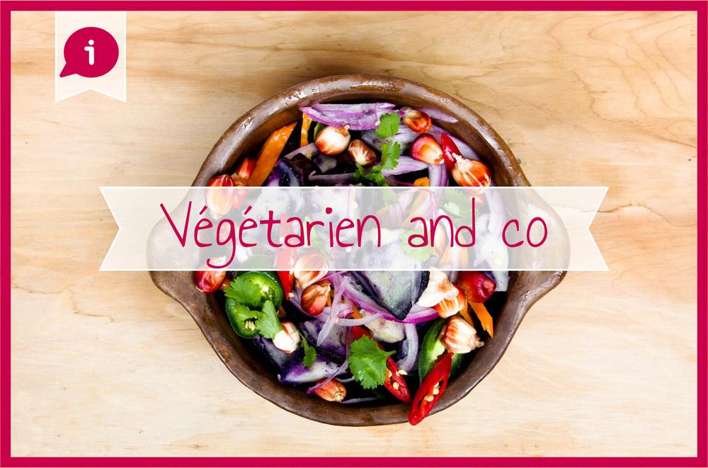 Végétarien cuisine
