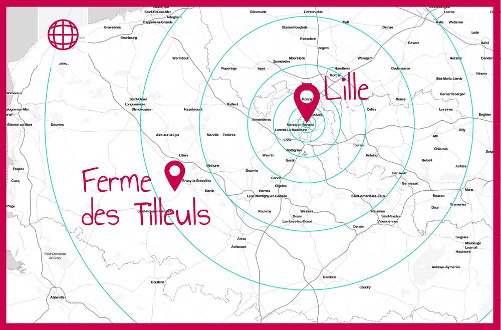 Ferme des Tilleuls bio Lille
