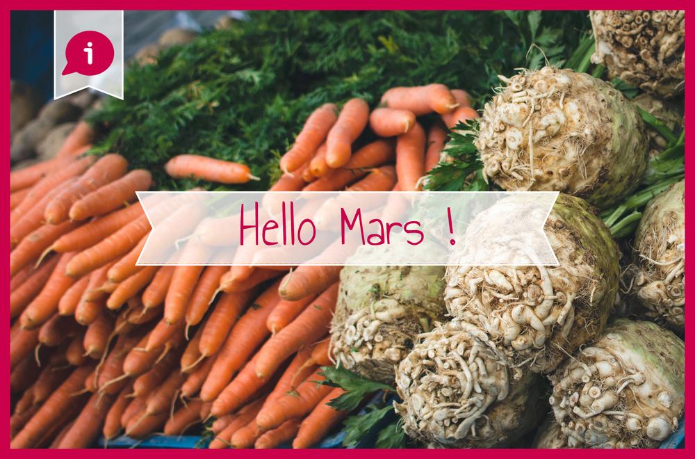 Légumes mars bio