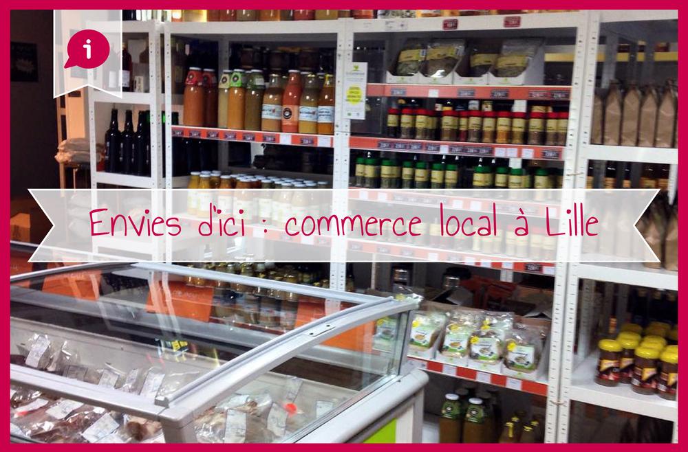 Envies d'ici produits locaux Lille
